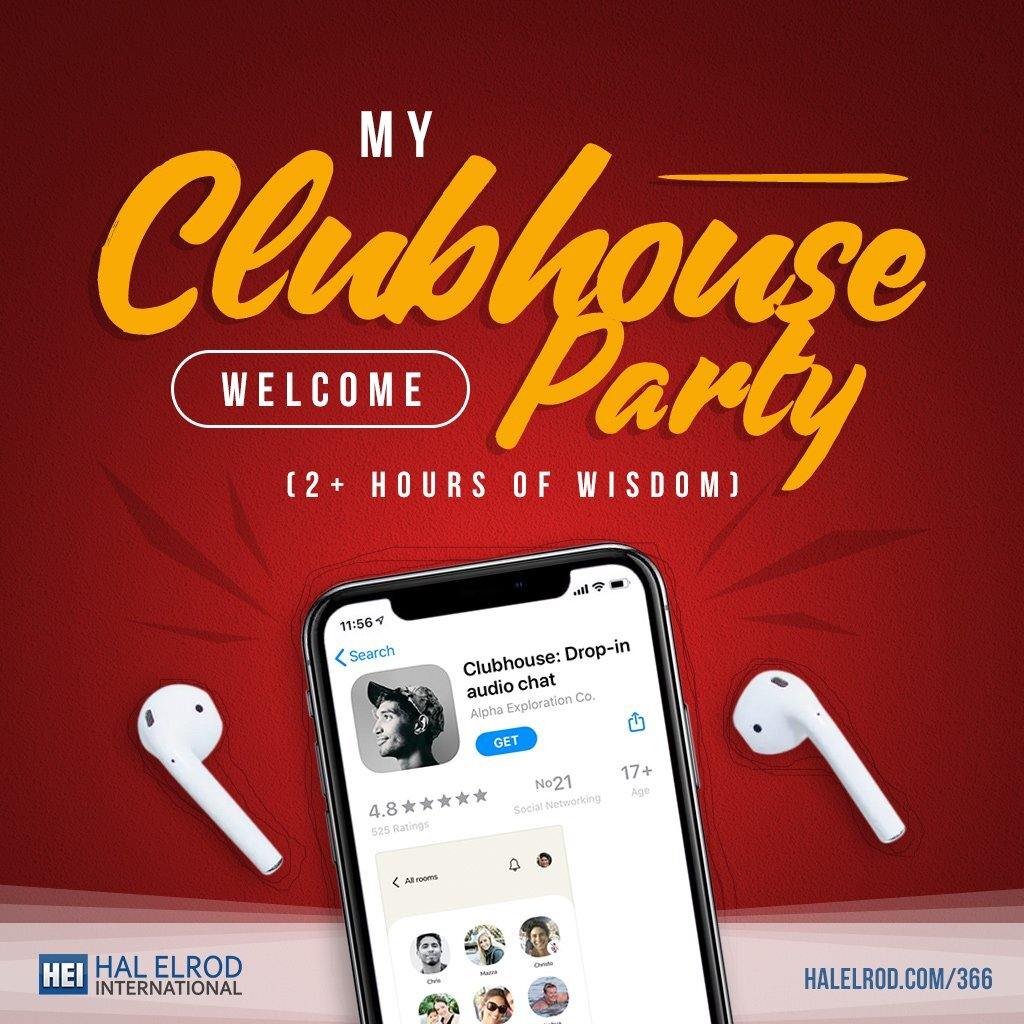 Clubhouse Welcome Party