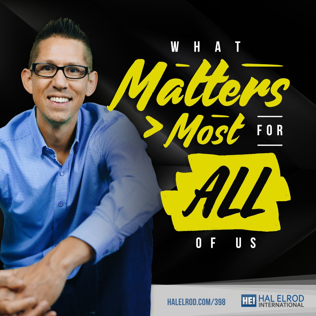 Hal Elrod What Matters Most